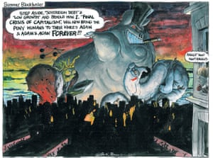 Martin Rowson on the final crisis of capitalism
