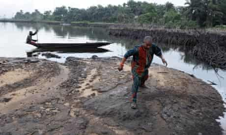 oil pollution in the Niger Delta