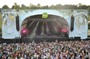 Big Chill: Main stage at The Big Chill Festival