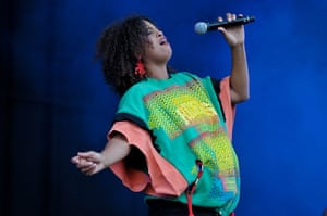 Big Chill: Ninah Cherry performs at Big Chill Festival 2011