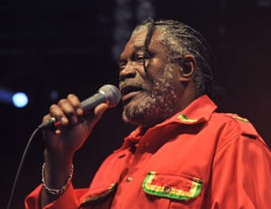 Big Chill: Horace Andy performs at the big chill festival