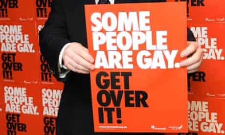 CJ de Mooi's T-shirt bore a Stonewall slogan