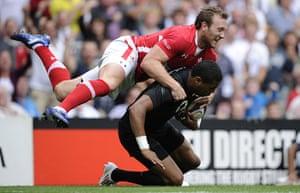 England v Wales Rugby: England v Wales, Rugby World Cup warm-up match, Twickenham Stadium, London