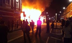 Tottenham protest