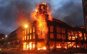 Tottenham riots: Shooting in Tottenham Hale