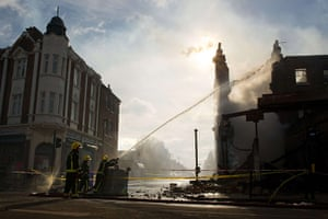 Tottenham riots: Firefighters