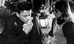 Claude Laydu and Martine Lemaire in Diary of a Country Priest
