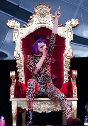 Big chill: Jessie J