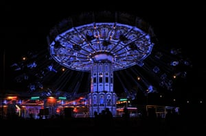 Big chill: The fairground