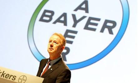 Marijn Dekkers of Bayer