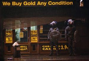 London riots: Rioting in Brixton