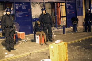 London riots: Two girls are detained