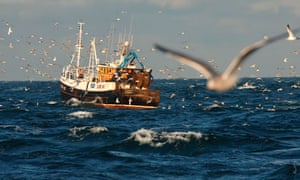Trawler north sea
