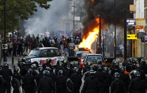 London riots day 3 : London riots day 3