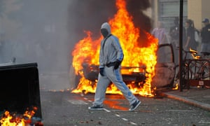 London riots day 3