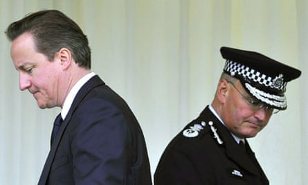 David Cameron and Sir Paul Stephenson
