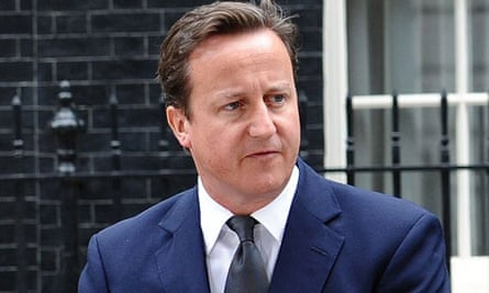David Cameron delivers his statement in Downing Street