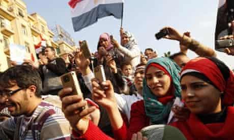Egyptians, Tahrir Square, Cairo, 12 February 2011