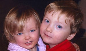 Elise and Harry Donnison, who were killed by their mother Fiona Donnison