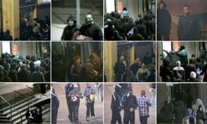 Birmingham riot CCTV images