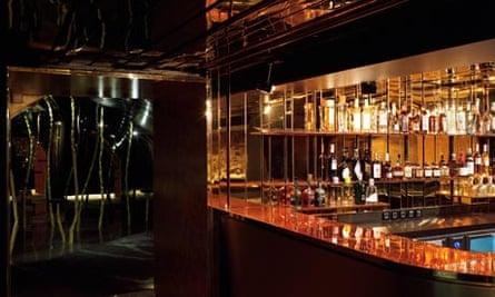 The bar of David Lynch's club Silencio