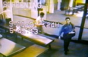 10 best: hijackers Mohammed Atta & Abdulaziz Alomari in airport security September11
