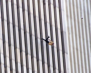 10 best: A man jumps from the World Trade Center on September 11