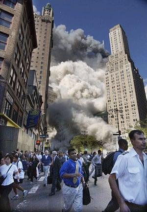 10 best: People rushing from the collapsing World Trade Centre, September 11