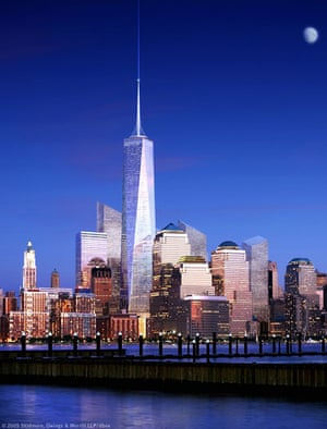 10 best: An artists impression of the freedom tower