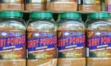 Curry powder at Shankar Superstore