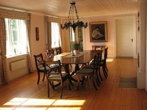 Scandinavian cabins: Henriksholm,  Lake Ånimmen, interior