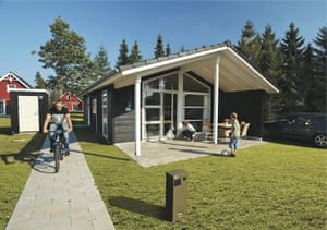 Scandinavian cabins: Danish Bungalows,  Lalandia, Billund, Denmark