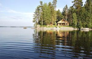 Scandinavian cabins: Kyröskoski Cabin, Ikaalinen, Finland