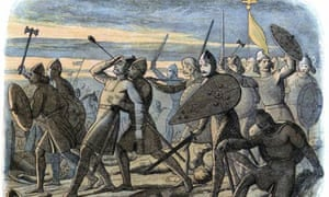 King Harold II is killed by a Norman arrow at the Battle of Hastings.