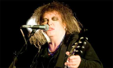 Robert Smith, singer with the Cure