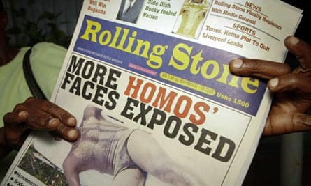 Rolling Stone newspaper, Uganda