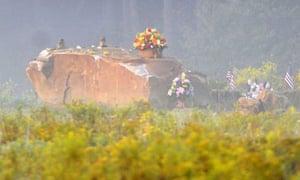 The Flight 93 9/11 memorial at Shanksville, Pennsylvania