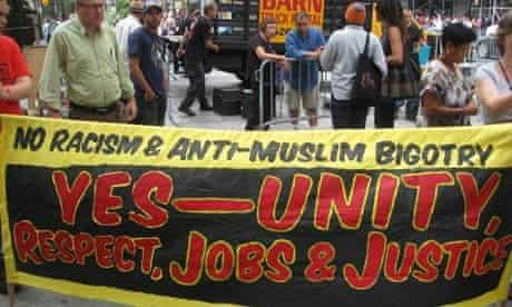 Banner outside LibertyFest