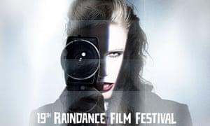 Rankin's poster for the 2011 Raindance film festival
