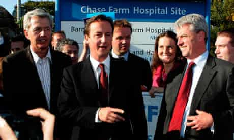 De Bois, Cameron and Lansley at Chase Farm