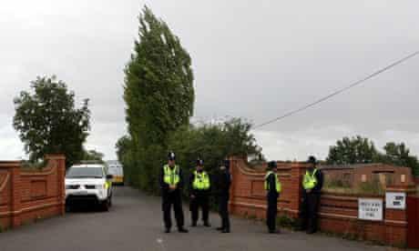 Greenacre caravan site arrests