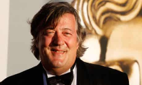 British actor Stephen Fry arrives at the BAFTA Brits to Watch event in Los Angeles