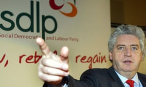 Alasdair McDonnell during the SDLP annual conference