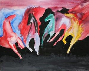 CoolTan: Debbie Francis - Wild Fire Horses