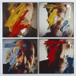 Richard Hamilton: Richard Hamilton's Four Self-portraits 1990