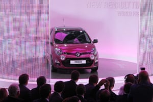 Frankfurt motor show: French car manufacturer Renault presents the new Twingo