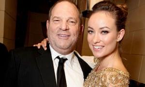 Harvey Weinstein and OIivia Wilde