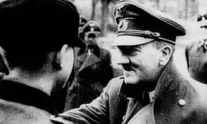 Hitler decorates members of the Hitler Youth five days before his suicide