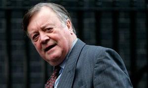 Ken Clarke in Downing Street