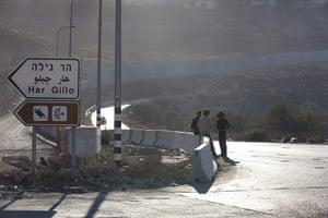 Al-Walaja: Palestinian workers